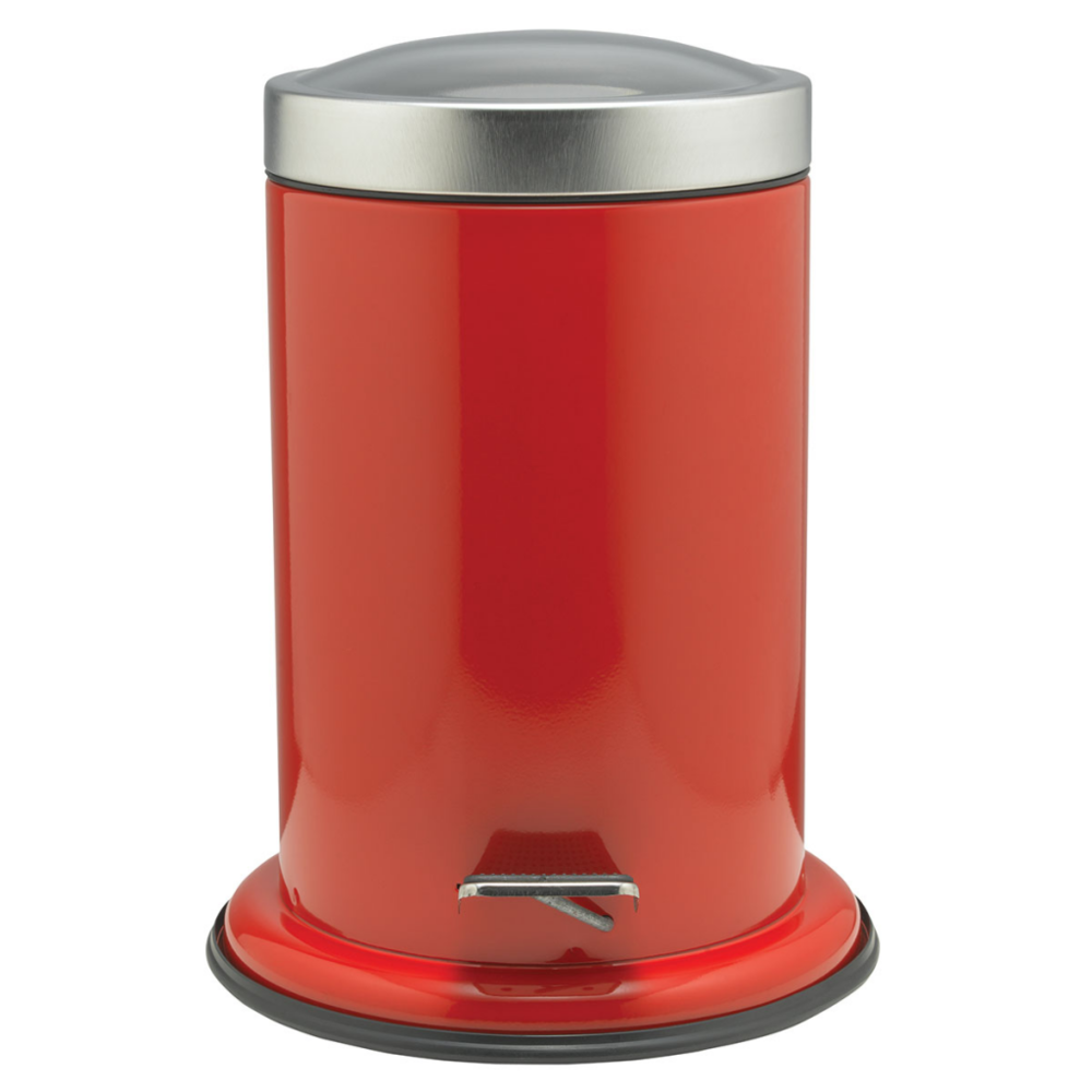 Sealskin Sealskin Poubelle à pédale rouge Acero 361732459
