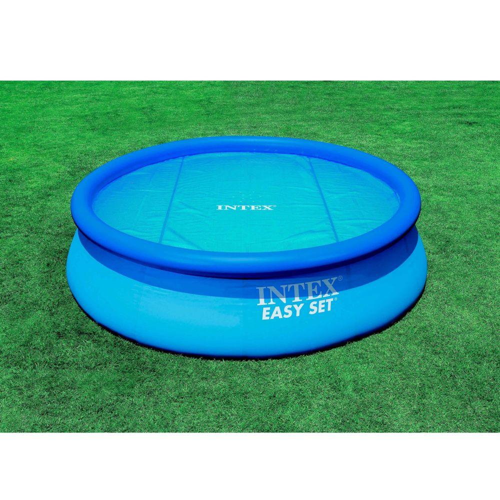 Intex Bâche à bulles 150 g/m2 - Dia : 5,34 m.