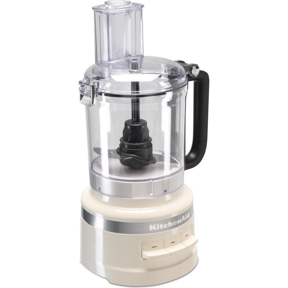 Kitchenaid robot ménager multifonction de 2,1L 250W crème argent