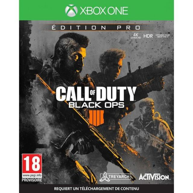 Activision - Call of Duty : Black OPS 4 - Édition Pro - Jeu Xbox One - Activision