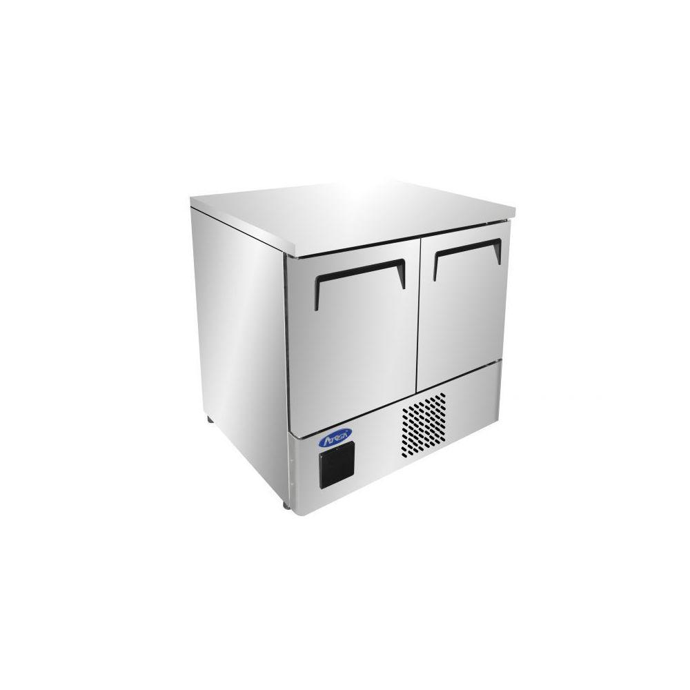 Atosa Table Réfrigérée Négative Inox 210 L - 2 Portes GN1/1 - Atosa - R290 2 Portes 759 mm
