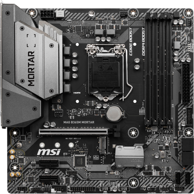 Msi - Intel B365 MORTAR - Micro-ATX - Carte Mère