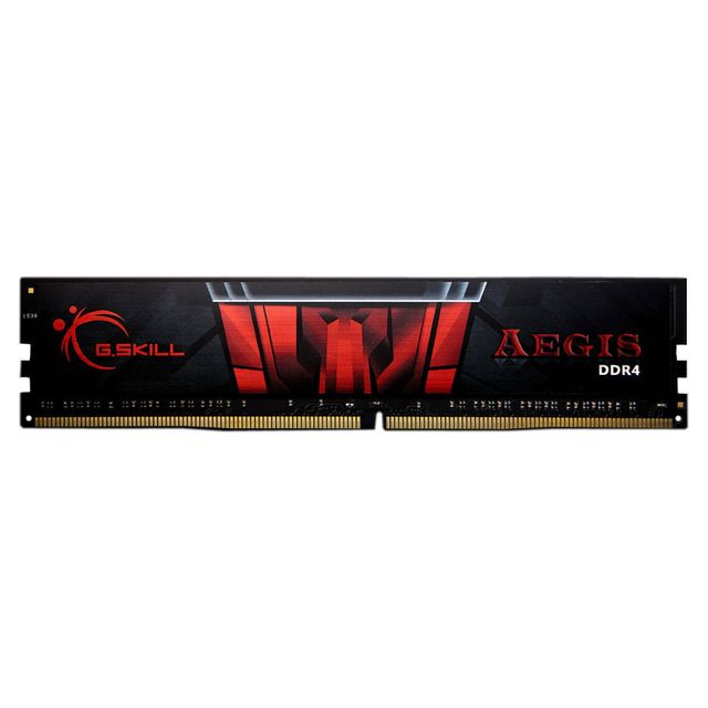 G.Skill - Aegis Gaming Series 4 Go (1x 4 Go) - 2133 MHz - CL 15 - RAM PC Fixe