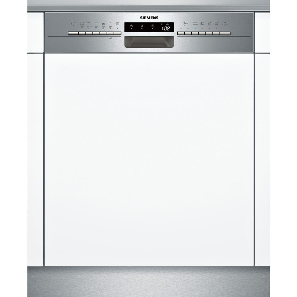 Siemens siemens - lave-vaisselle intégrable 60cm 12c 46db a+ avec bandeau inox - sn536s01ae