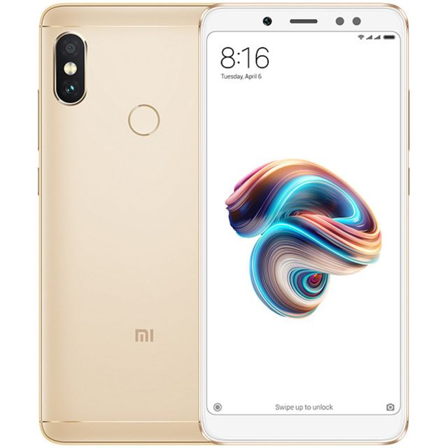 XIAOMI - Redmi Note 5 - 64Go - Or - Version Française - Xiaomi