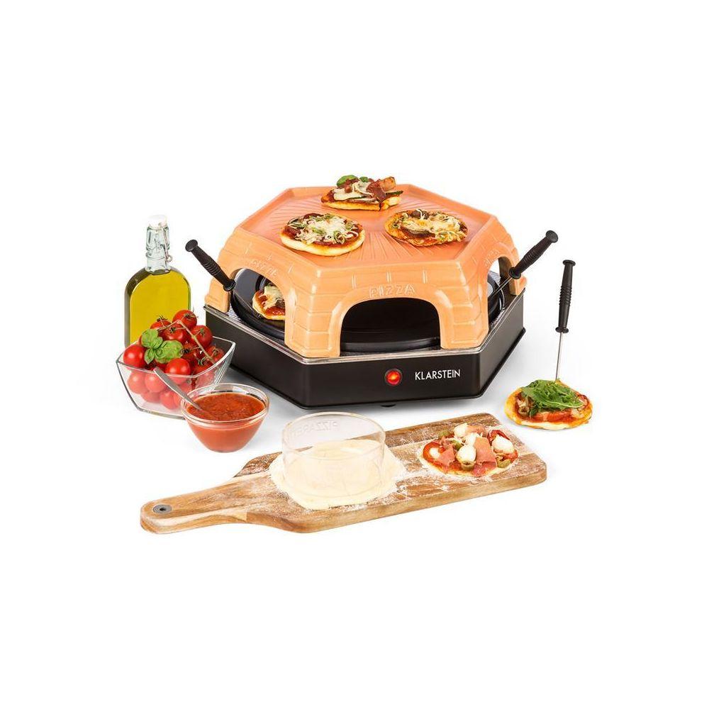 Klarstein Klarstein Capricciosa Four à pizza 1500W dôme terracotta maintien au chaud Klarstein
