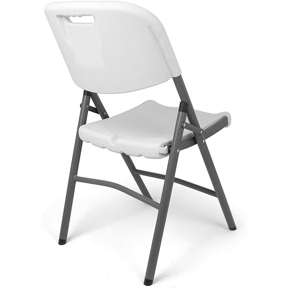Maison Futee - Chaise pliante confort en résine ultra solide