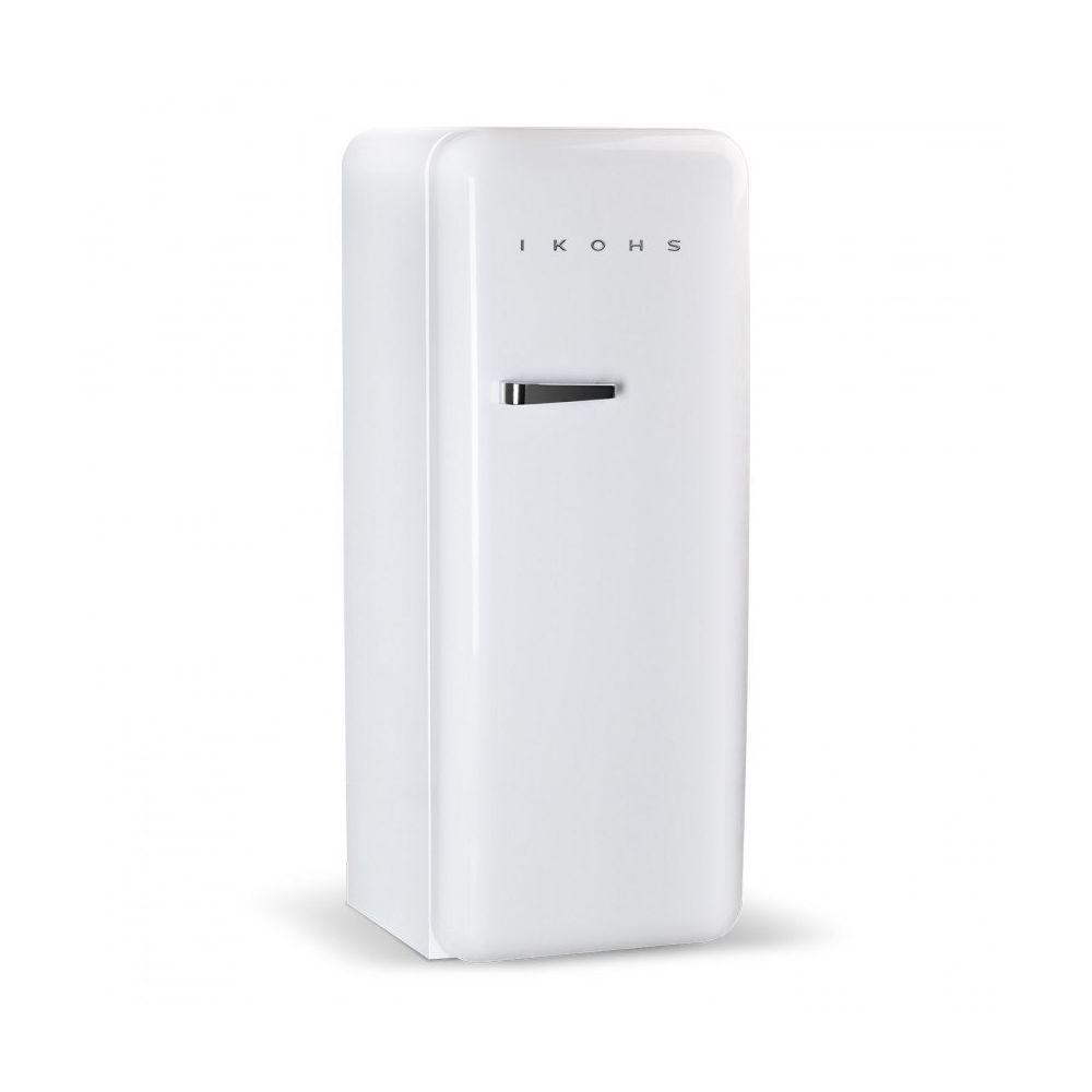 Ikohs RETRO FRIDGE 150 BLANC - Réfrigérateur