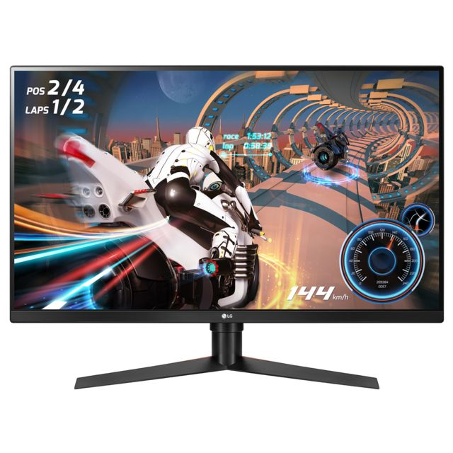 "LG - LED 32"""" 32GK650F-B - Moniteur PC 144 hz"