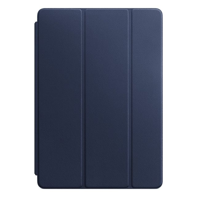 Apple - Leather Smart Cover iPad Pro 10.5 - MPUA2ZM/A - Bleu nuit - Housse, étui tablette