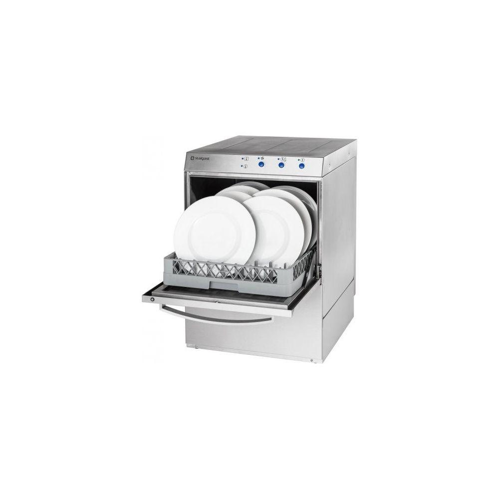 Materiel Chr Pro Lave-Vaisselle Professionnel Inox 220V Monophasé 50 x 50 - Stalgast - 220V monophase
