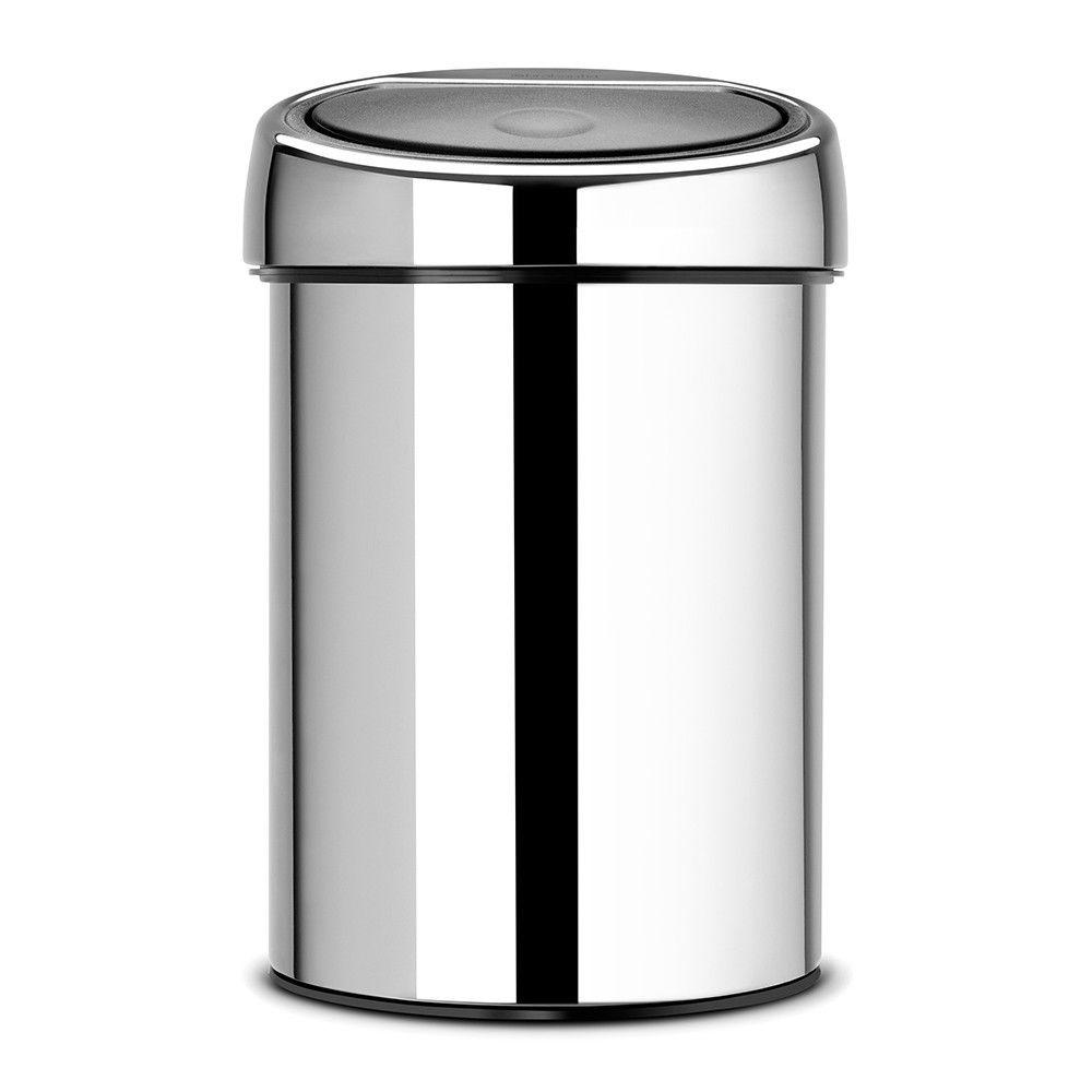 BRABANTIA Touch Bin, 3L - Brilliant Steel