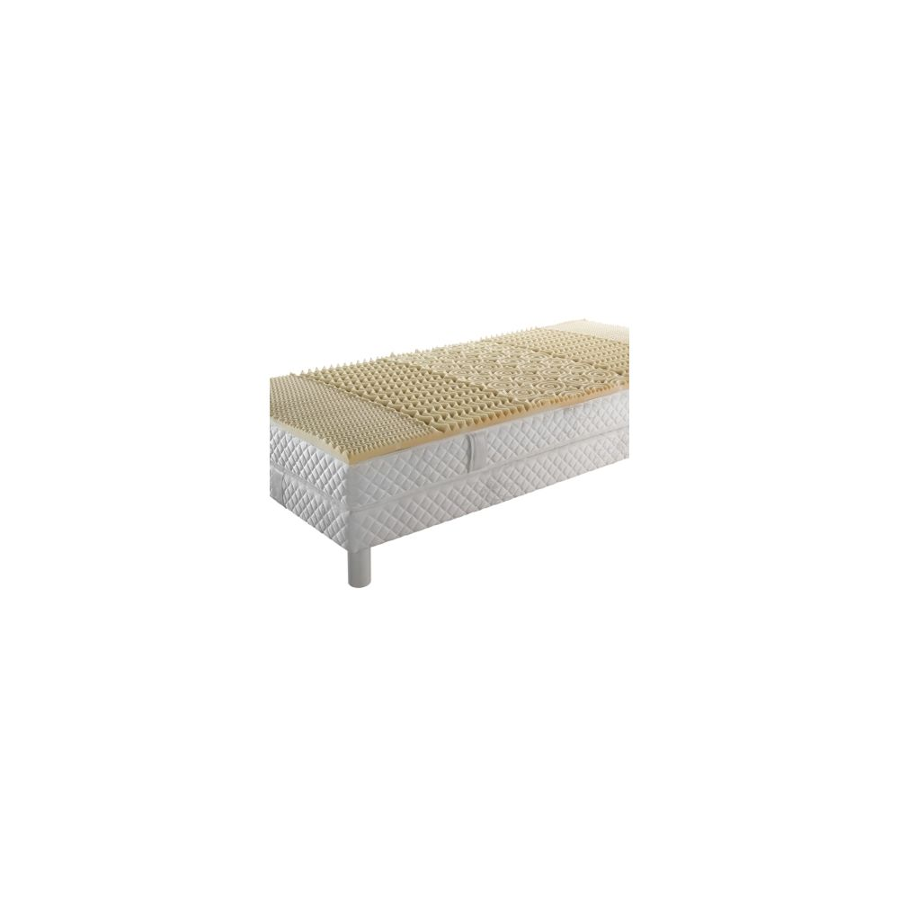 Oekosom Surmatelas mousse visco 5 zones de confort OEKOSOM 80 x 200 cm