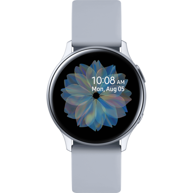 Samsung - Galaxy Watch Active 2 - 40 mm - Alu Bleu Gris  - Objets connectés