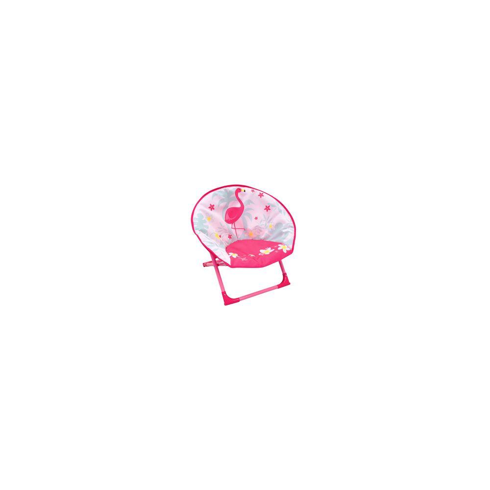 Fun House Siège lune flamant rose