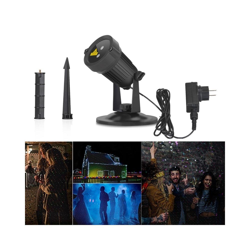 Wewoo Projecteur LED rouge et vert Blinblin San III 5W Dynamique + Laser Mini Paysage Extérieur Lumière