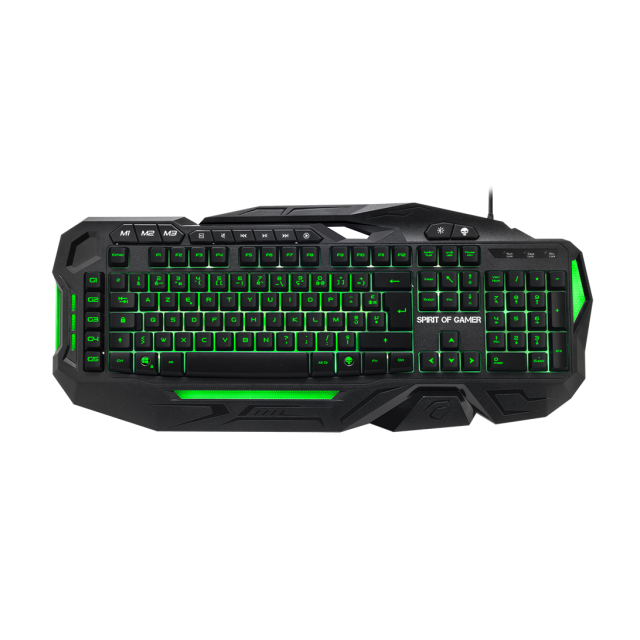 Clavier Spirit Of Gamer ELITE-K20 - Membrane