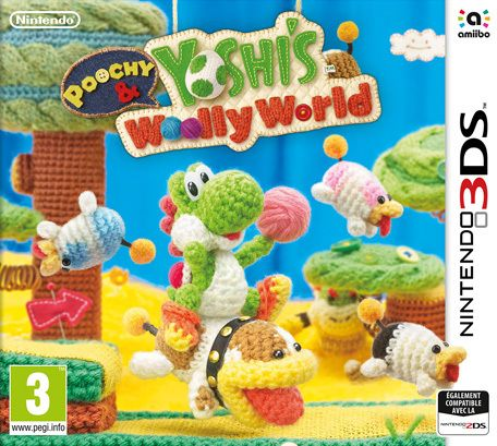 Nintendo - Poochy & Yoshi Woolly World - 3DS - Nintendo 3DS