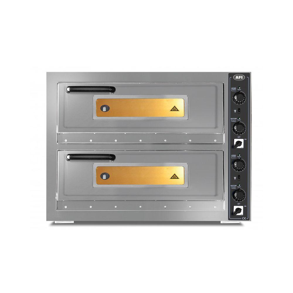 Materiel Chr Pro Four à Pizzas 2 x 6 Pizzas Ø 30 cm - 12 kW - AFI Collin Lucy -