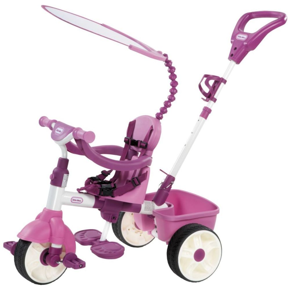 Little Tikes Little Tikes Tricycle Deluxe 4 en 1 rose