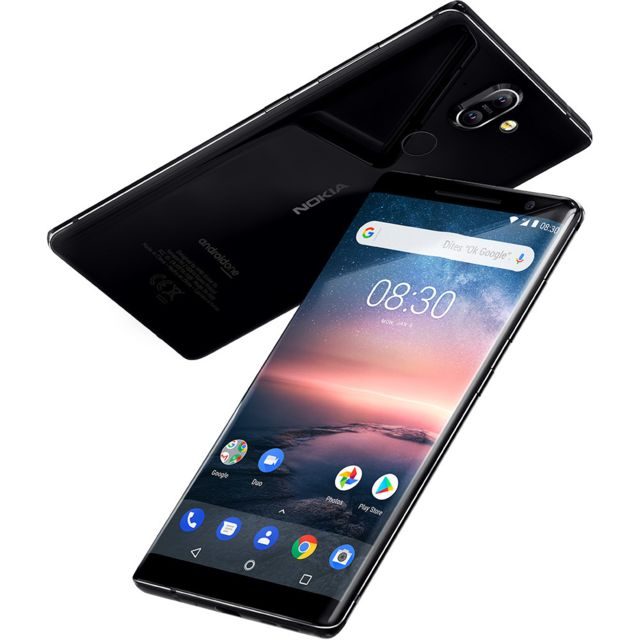 Smartphone Android 8 Sirocco - Noir