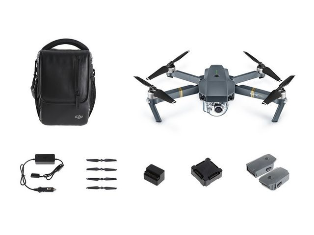 Dji - Mavic Pro Fly More Combo - Objets connectés reconditionnés
