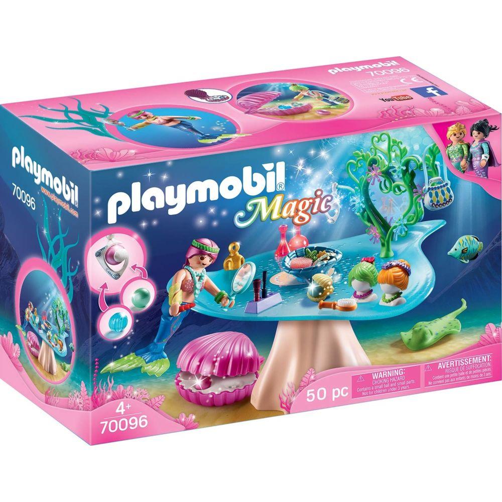 Playmobil PLAYMOBIL 70096 Magic - Salon de beauté et sirène