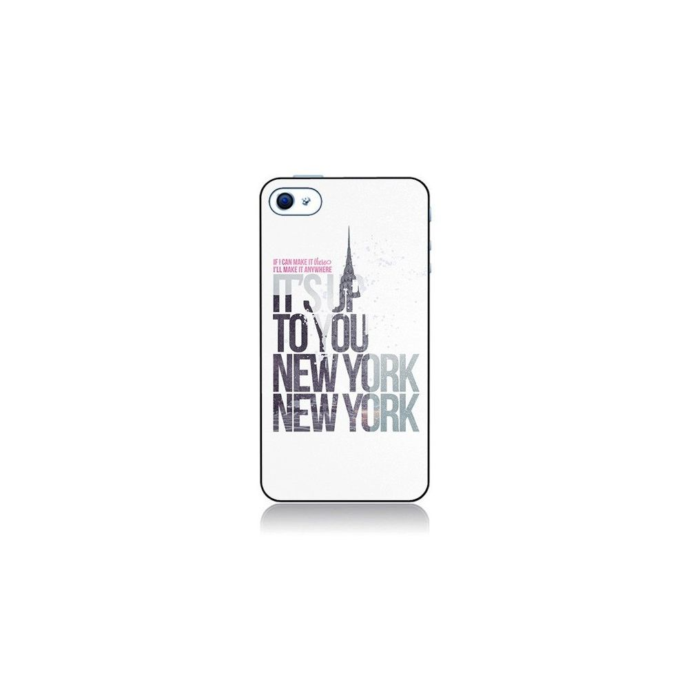 Apple - Coque iPhone 4 et 4S Up To You New York City - Javier ...