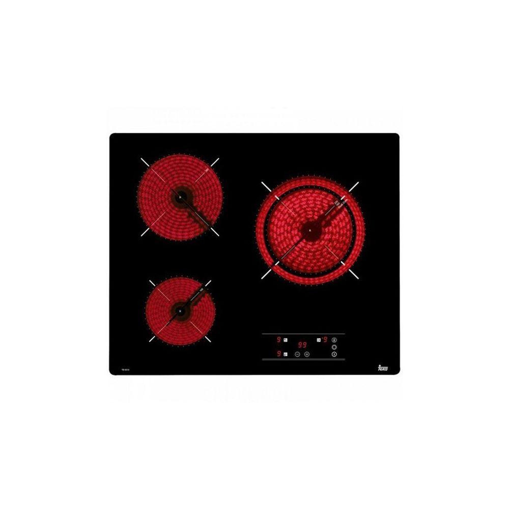 Teka Plaques vitro-céramiques Teka TB6310 60 cm Noir (3 zones de cuisson)