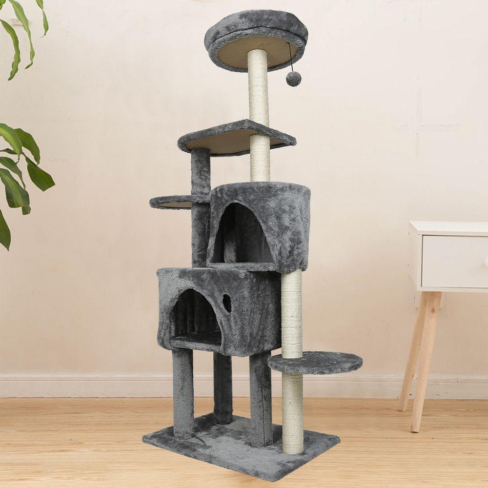 Ltppstore sublime Accessoires pour chats ligne Arbre à chat et griffoir Sisal 150cm