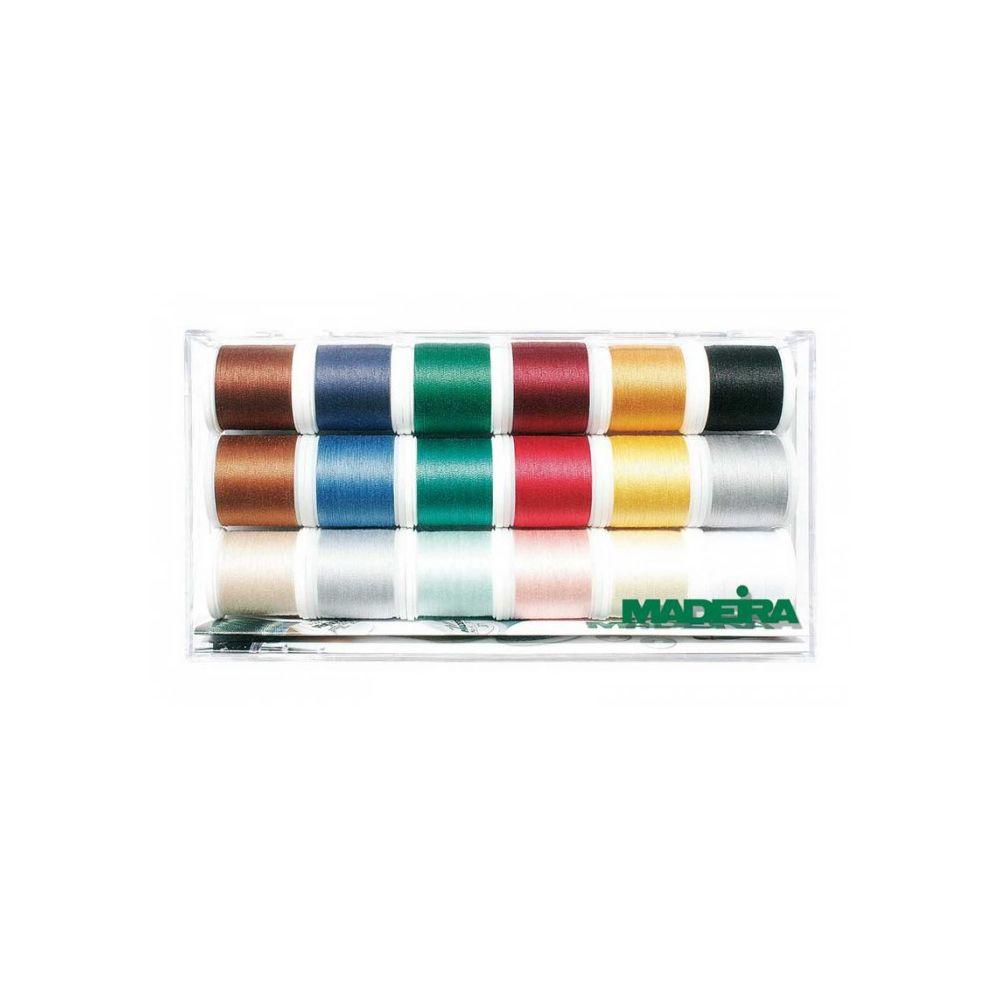 Madeira Assortiment Cotona Art. No. 8030 18 bobines de 20