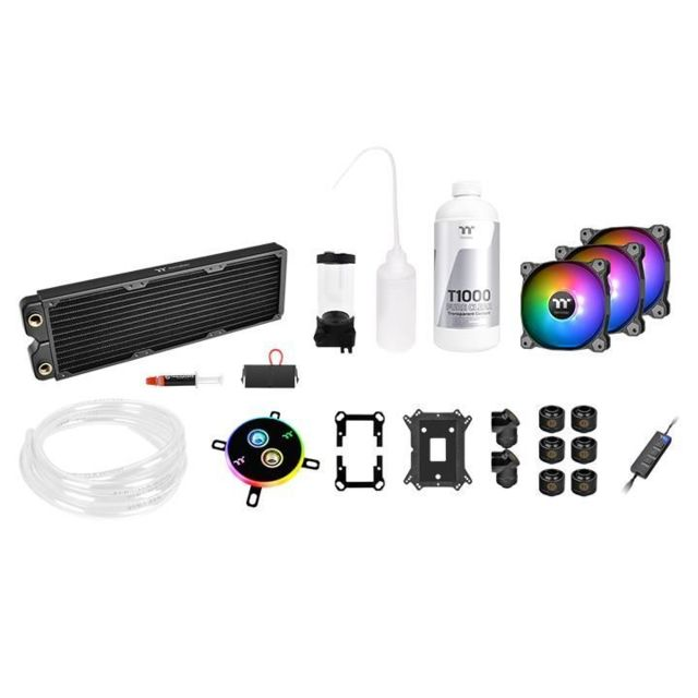 Thermaltake - THERMALTAKE Pacific C360 DDC Soft Tube Water Cooling Kit - Watercooling