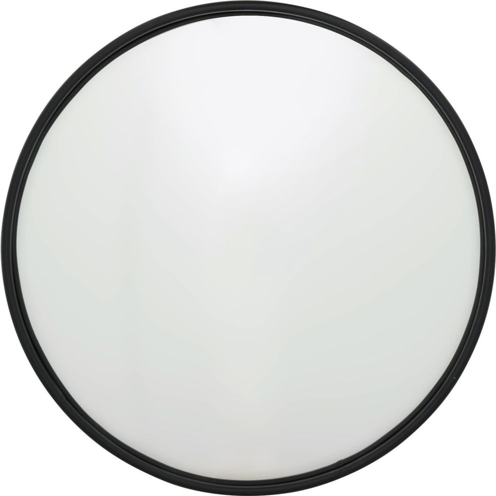 Karedesign Miroir Célébration noir mat 100cm Kare Design