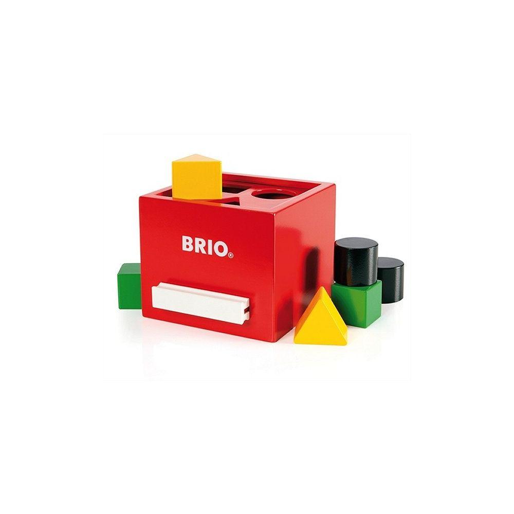 BRIO Boîte à formes Rouge