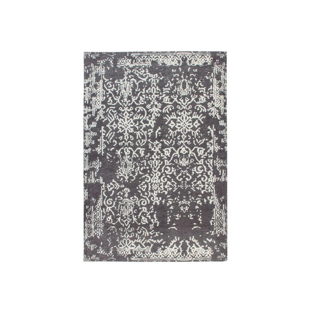 Paris Prix Tapis Jacquard Vintage River Gris & Anthracite - 200 x 280 cm