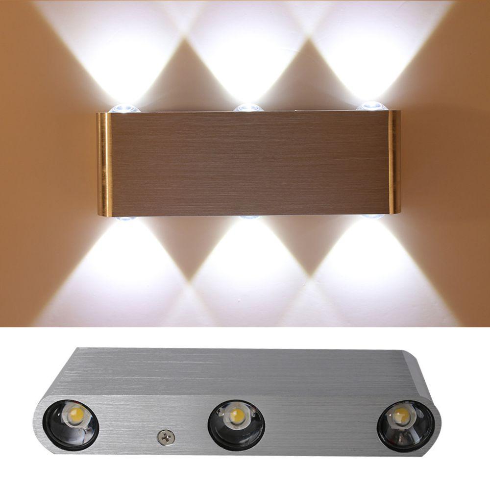 Generic Simple Led rectangulaire Applique Hôtel Salon Chambre Aisle Lampe de chevet
