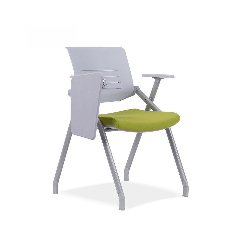 Wewoo Chaise de conférence avec d'écriture pliante en mesh respirant129C épaisseavec tableau vert