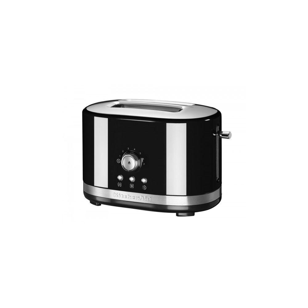 Kitchenaid kitchenaid - grille-pain 2 fentes 1200w noir - 5kmt2116eob