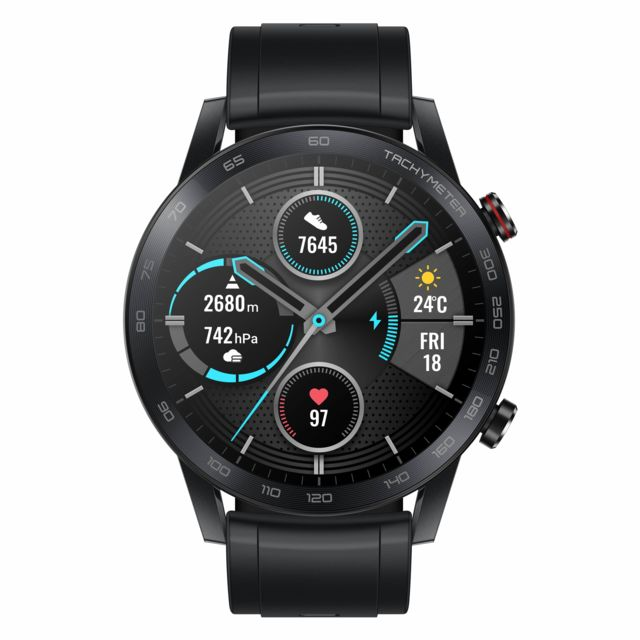 Honor - Magic Watch 2 - 46mm - Charcoal Black - Black Friday Objets Connectés