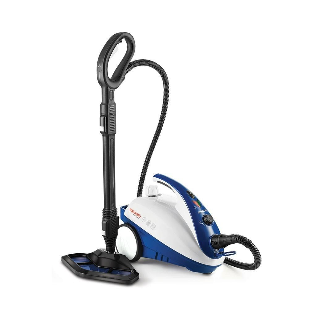 Polti Nettoyeur vapeur - SMART 40 MOP - Blanc/Bleu