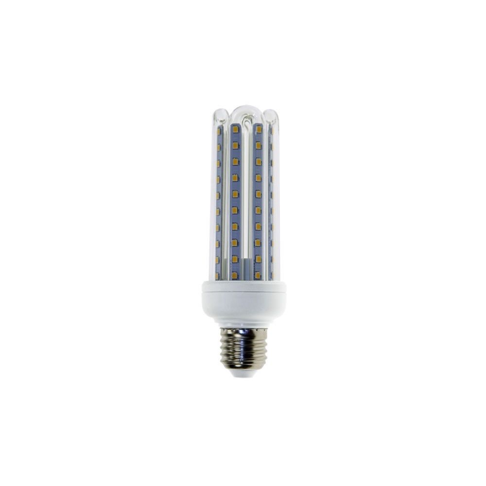 Eclairage Design Ampoule LED E27 T3 4U 15W (Température de Couleur Blanc froid 6000K)