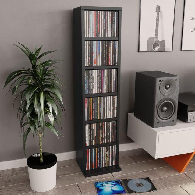 splendide armoires et meubles de rangement gamme washington meuble cd noir 21 x