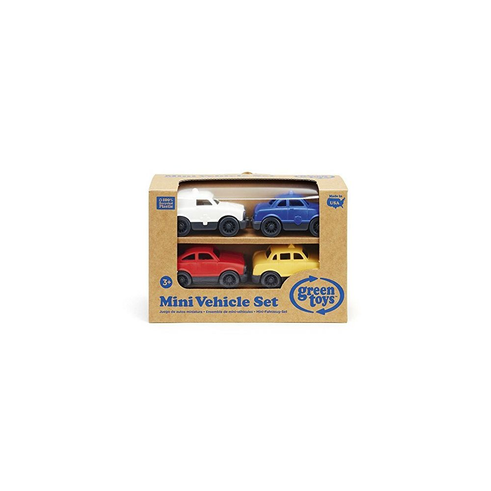 Green Toys Green Toys Mini Vehicle 4-Pack