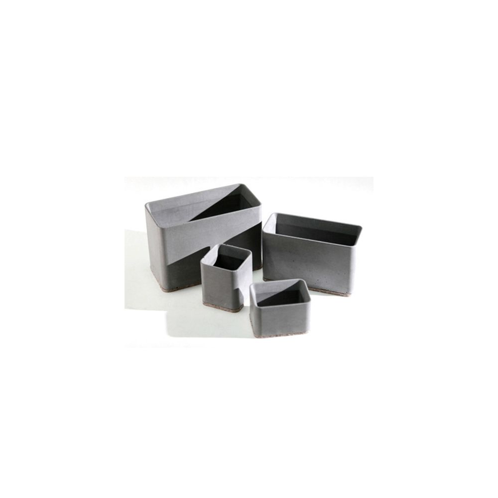 Wewoo Ciment Pen Holder Storage Box Desk Set School Supplies ABCD