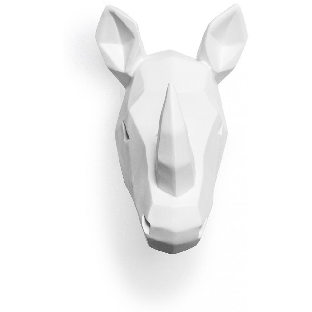 Privatefloor Tête de rhinocéros Origami Résine
