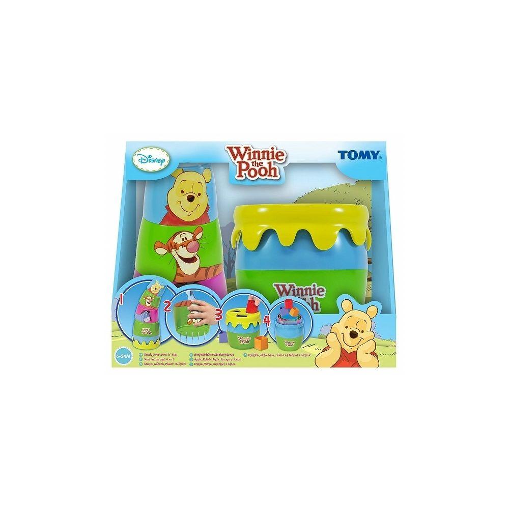 TOMY Mon pot de miel 4 en 1 Winnie the Pooh Disney - Eveil bebe 6-24 M
