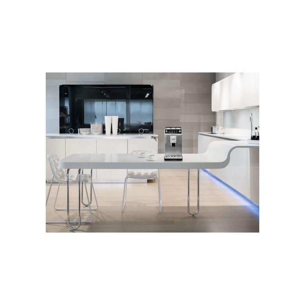 Delonghi machine à expresso avec broyeur pour Café en grains et moulu 1450W noir gris