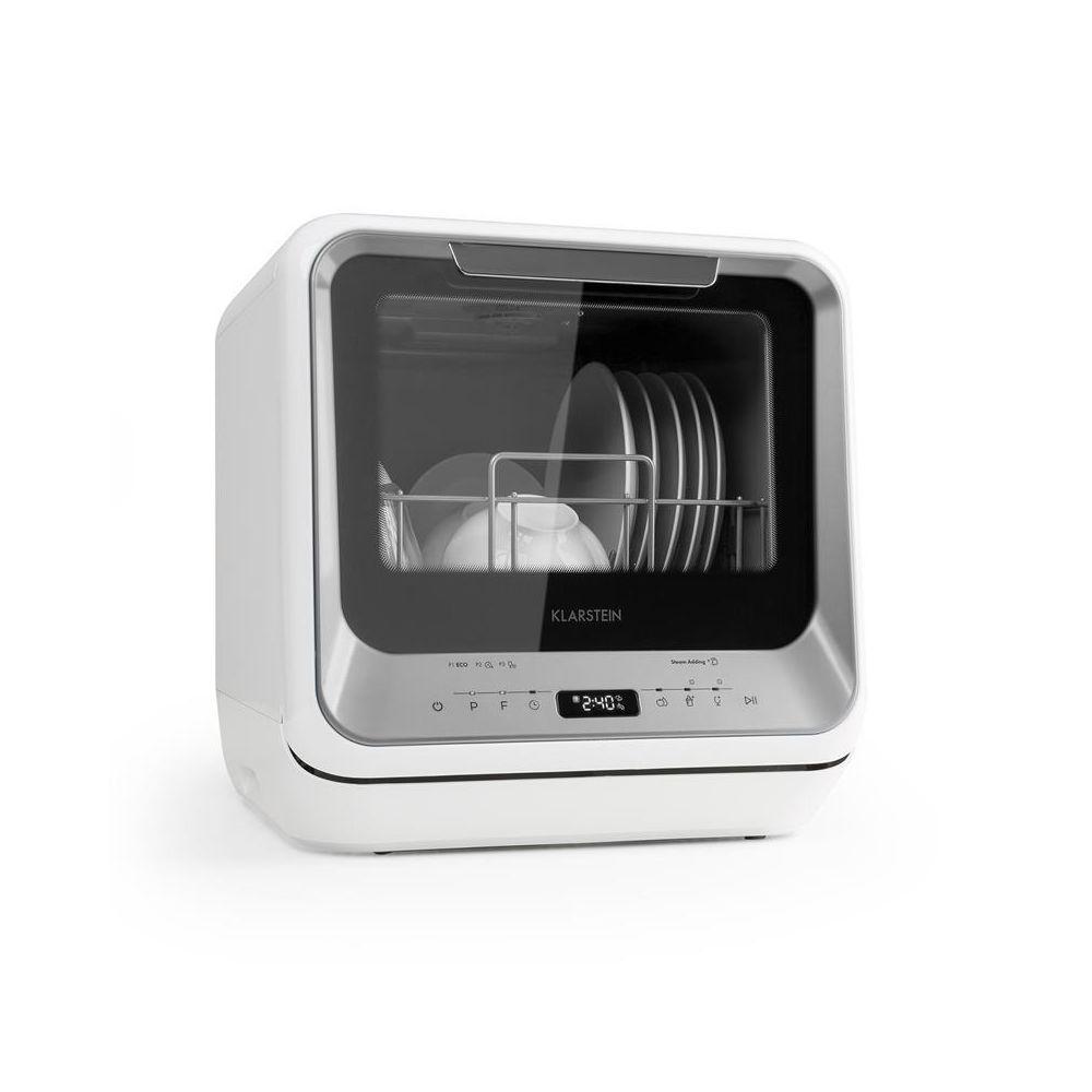 Klarstein Klarstein Amazonia Mini lave-vaisselle 6 programmes écran LED classe A - argent Klarstein