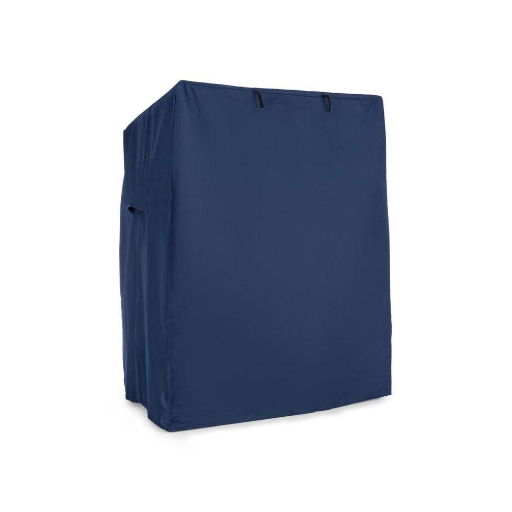 Blumfeldt Blumfeldt Protection fauteuil cabine plage housse étanche 115x160x90 cm ? bleu Blumfeldt
