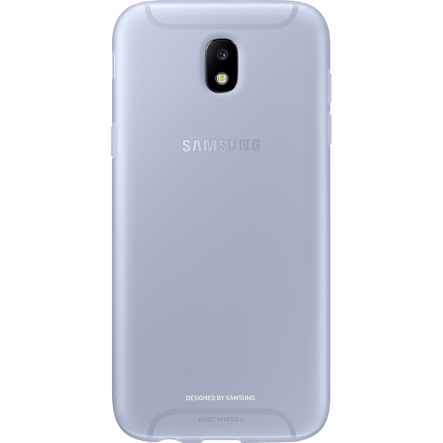 Samsung - Jelly Cover J7 2017 - Bleu - Accessoire Smartphone